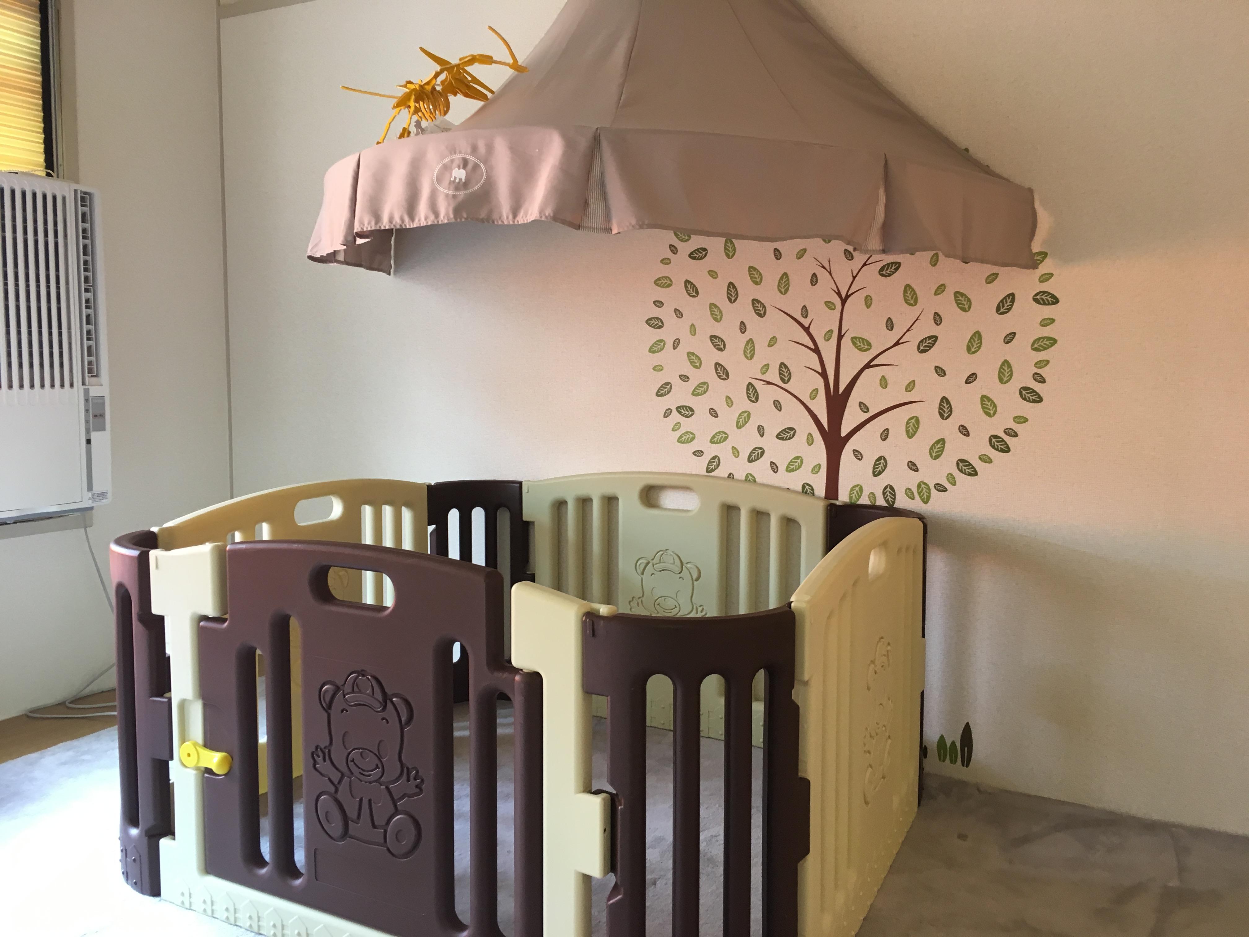 来春からの1歳児のお部屋を作ってます