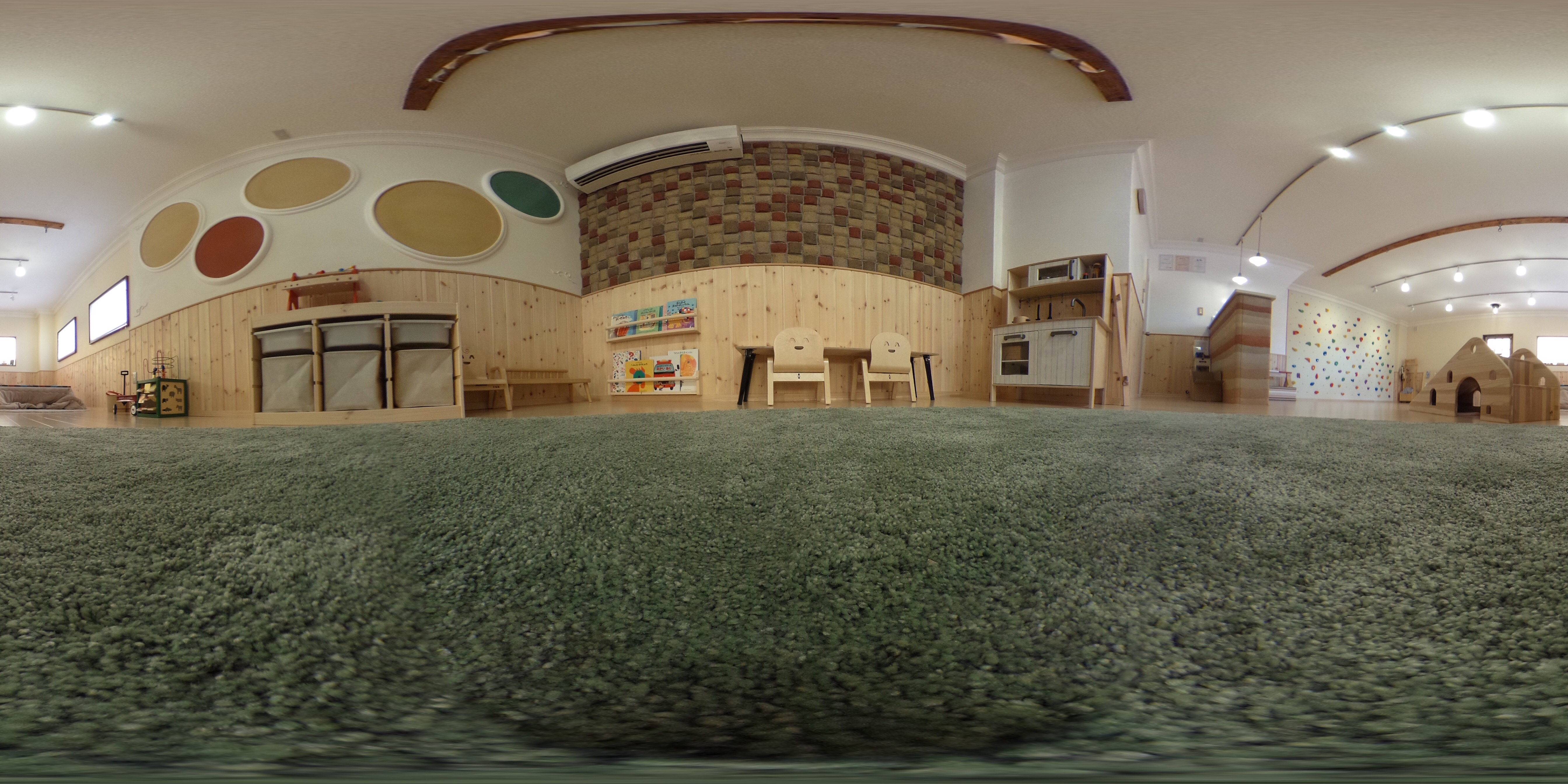 神戸市北区北五葉 保育園 kidsroom Mohala  360°風景